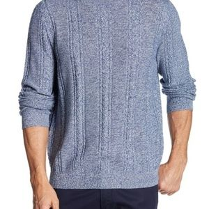 Tommy Bahama Silk Marled Sands Cable Crew Sweater